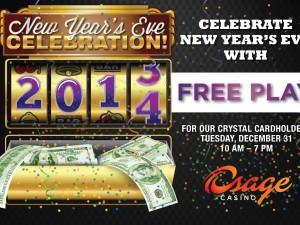 Osage Casino – NYE Mailer