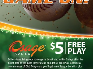 Osage Casino – Baseball Free Play