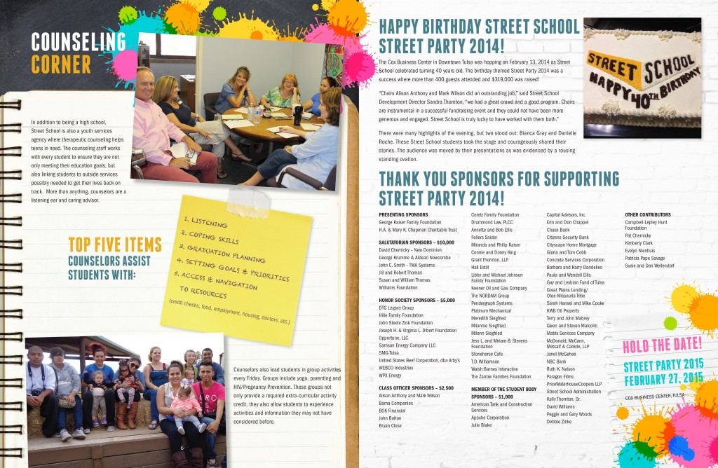 Ian Joyce » Street School – Newsletter